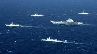 China Kembali Gelar Latihan Perang di Dekat Taiwan