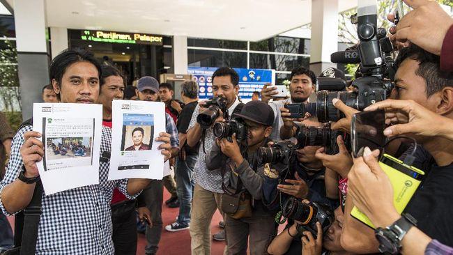 Pewarta Foto Laporkan Akun Facebook Penyebar Hoax