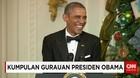 Gurauan Presiden Barack Obama
