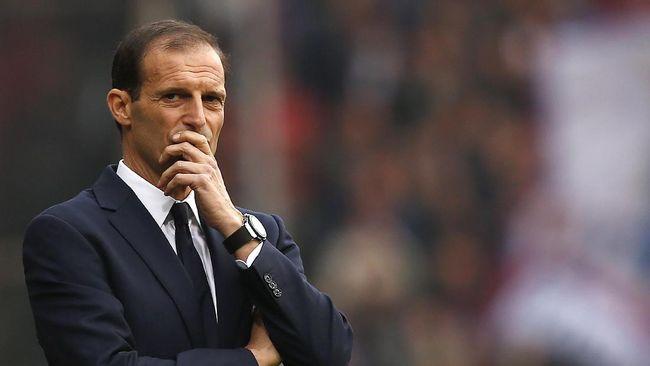 Pelatih Massimiliano Allegri dilaporkan akan menjadi pengganti Mikel Arteta yang bisa dipecat Arsenal usai hasil buruk The Gunners.
