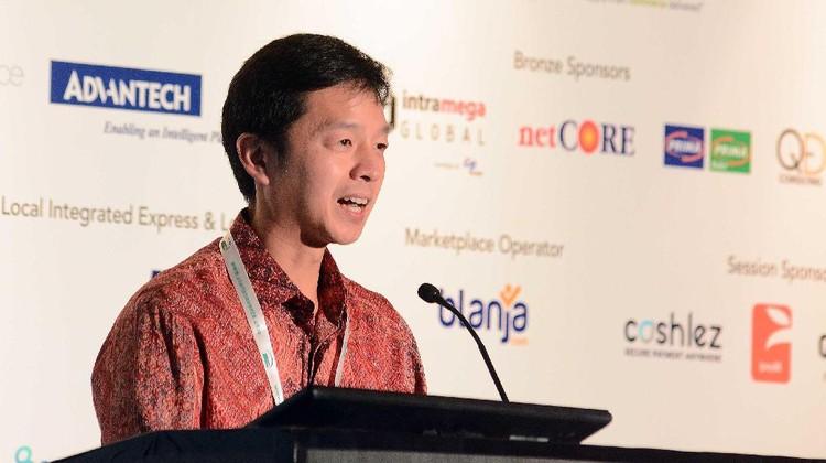 BCA turut meramaikan pameran Internet Retailing Expo (IRX) Indonesia di Jakarta, Rabu (18/1/2017). Beragam kartu kredit dan debit produk BCA dipamerkan.