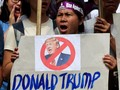 Demonstran Bentrok, Trump-Obama Tiba di Capitol