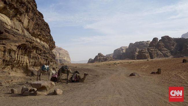 Pemandangan Wadi Rum di Yordania kembali mendapat sorotan dunia setelah menjadi lokasi saga seri terakhir