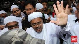 Rizieq Meradang di Sidang: Nada Tinggi, Jari Menunjuk Jaksa
