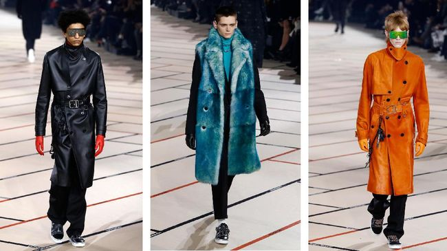 Pekan peragaan busana Paris Fashion Week (Men's) berakhir Minggu (22/1) malam, dan menyuguhkan setidaknya lima tren fesyen di masa mendatang.