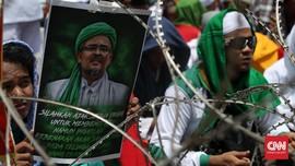Ribuan 'Pengawal' Rizieq Shihab