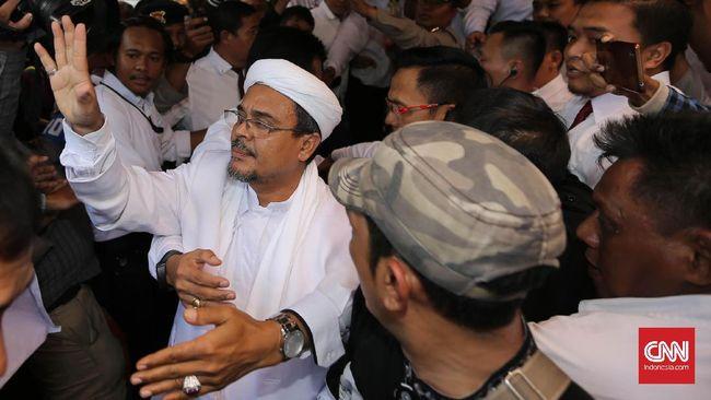 Netizen riuh soal kepulangan sosok Pemimpin Front Pembela Islam Rizieq Shihab.