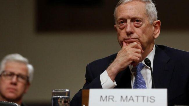 James Mattis, Menteri Pertahanan Amerika Serikat, bertemu dengan NATO untuk pertama kali di Belgia. Mereka membahas tentang anggaran militer.