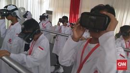 1000 Guru Disiapkan Pakai Teknologi VR Untuk Mengajar di RI