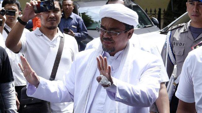 Melalui pernyataan tertulisnya, FPI menyatakan Rizieq Shihab akan pulang ke Indonesia dan memimpin revolusi.