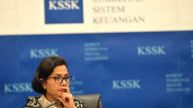 Menkeu Sri Mulyani menuturkan total pembiayaan utang per Maret 2021 mencapai Rp328,5 triliun, melonjak 300 persen dari periode yang sama tahun lalu.