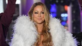Mariah Carey Tepuk Tangan untuk 'Pahlawan' dari Atas Gedung