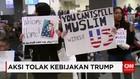 Tolak Kebijakan Trump, Warga AS Sambut Pendatang di Bandara