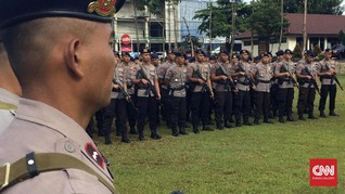 Polisi Kerahkan Bantuan Personel Daerah Amankan Pilkada DKI