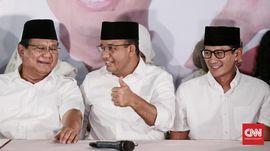 Temui Prabowo, Anies-Sandi Dapat Wejangan