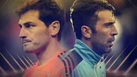 Pertarungan Casillas dan Buffon di Liga Champions