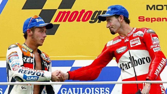 Legenda balap motor Max Biaggi mencoret nama Valentino Rossi dalam bursa calon juara MotoGP 2020 jelang MotoGP Catalunya.