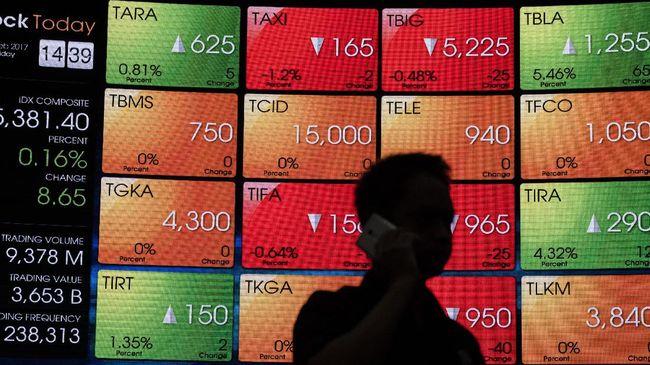 IHSG meradang ke posisi 5.006. Indeks saham rontok 143,40 poin atau 2,78 persen pada penutupan perdagangan Senin (3/8) sore.