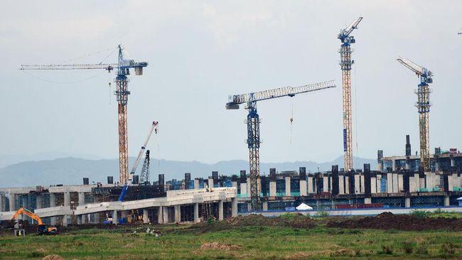 Pembangunan Bandara Soedirman, Purbalingga, Jateng, telah mencapai melampaui target yang dipatok PT Angkasa Pura II.