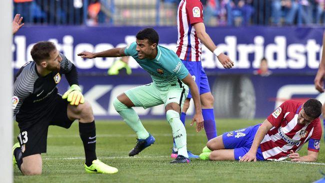 Rafinha hanya bermain 16 menit saat Barcelona mengalahkan Granada 4-1. Pihak klub menyatakan winger 24 tahun itu mengalami masalah di bagian meniscus.
