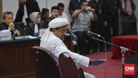 Saksi Sebut Kondisi Rizieq Lemah di Awal Masuk RS Ummi