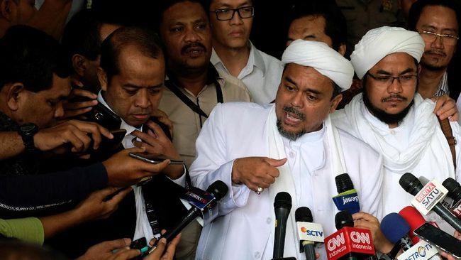 Duta Besar RI untuk Arab Saudi, Agus Maftuh Abegebriel, mengatakan Rizieq Shihab sempat ditahan otoritas Saudi sebelum dibebaskan dengan jaminan.