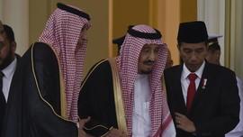 Raja Salman Dirawat, Jokowi Doakan Cepat Sembuh