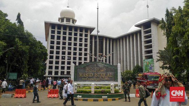 Menkes Budi Gunadi mengatakan vaksinasi di Istiqlal bisa dilakukan terhadap 500-1.000 orang dalam sehari.