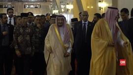 Kunjungan Singkat Raja Salman di Istiqlal