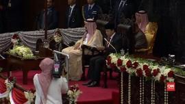 Kunjungi DPR, Raja Salman Berpesan soal Tangkal Terorisme