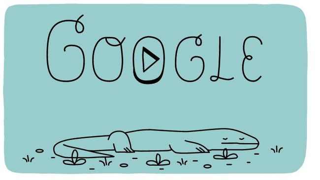Google menyambut hari jadi Taman Nasional Komodo dengan meluncurkan fitur Doodle berupa animasi dan kuis.
