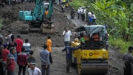 Jalan Nasional Ponorogo-Pacitan Amblas Lagi