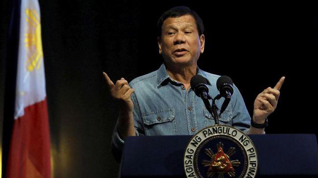 Duterte Tantang AS Kirim Militer ke Laut China Selatan