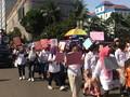 Parade Aksi Perempuan Jakarta Suarakan Kesetaraan