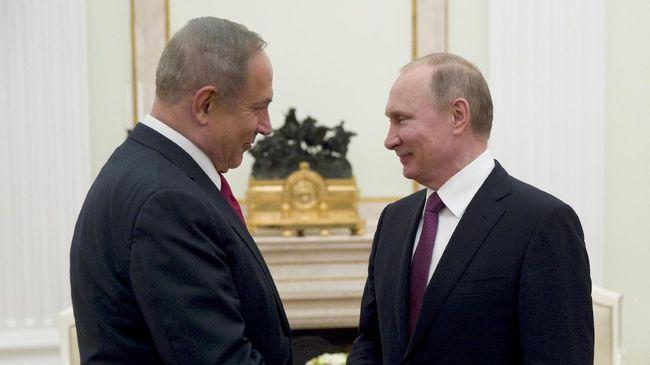 Presiden Vladimir Putin berencana mengadakan pertemuan dengan PM Israel, Benjamin Netanyahu, pekan depan, di sela Piala Dunia yang sedang berlangsung di Rusia.