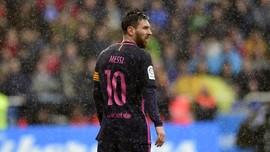 Menjilat Ludah Tak Berarti Messi Kalah