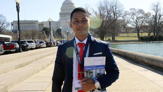 Mahasiswa Indonesia menjadi peserta Harvard Project for Asian and International Relations (HPAIR) Conference di Amerika Serikat.
