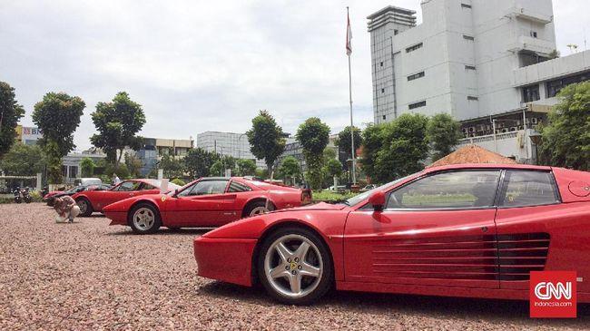 Ferrari 288 GTO yang dicuri akhirnya ditemukan, namun pencuri masih dalam pelarian.