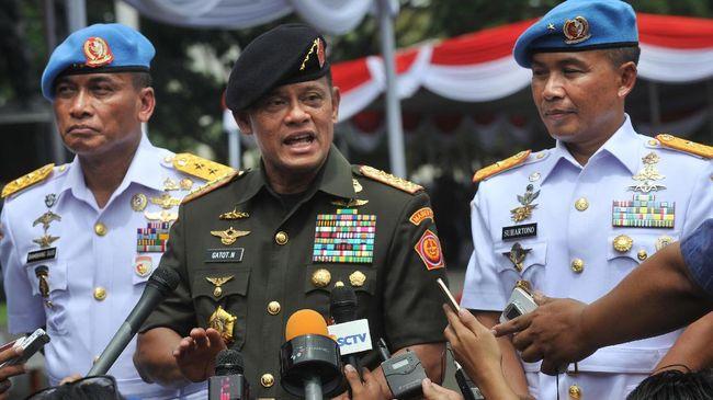 "Panglima TNI: ""Seribu Persen Benar Itu Kata-kata Saya""."