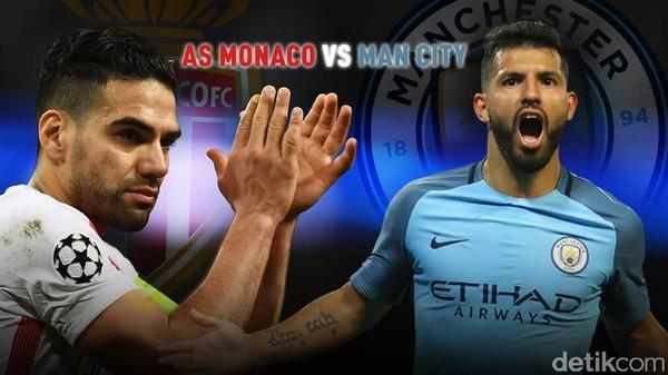 Monaco Depak Man City dari Liga Champions