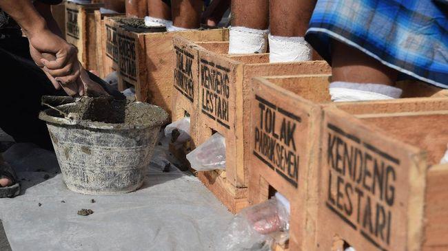 Jokowi memerintahkan Teten Masduki mengurus kepulangan jenazah Patmi, petani Kendeng yang wafat usai aksi penolakan pabrik semen di Rembang.