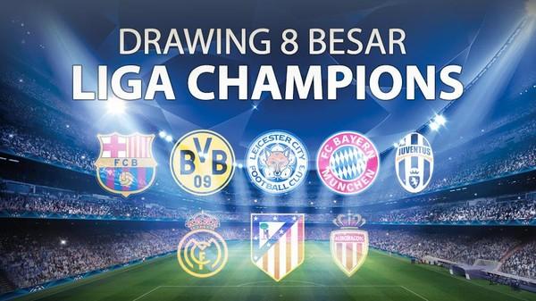 Drawing 8 Besar Liga Champions