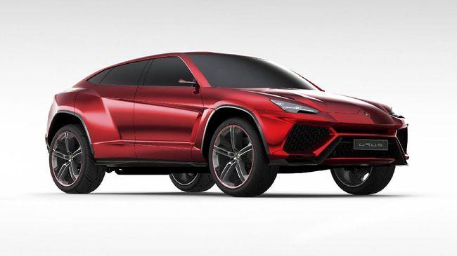 Lamborghini Urus, mungkin akan menjadi debut produsen asal Italia tersebut di segmen Sport Utility Vehicle (SUV).