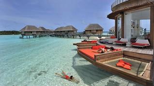 Turis dengan Jet Pribadi Sudah Boleh Liburan ke Maladewa
