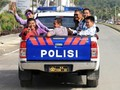 Aksi Susi Naik Mobil Bak Terbuka Bikin Netizen Terperangah