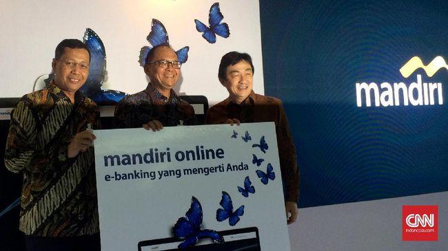 Alihkan M Banking Ke Mandiri Online Rp100 Miliar Disiapkan