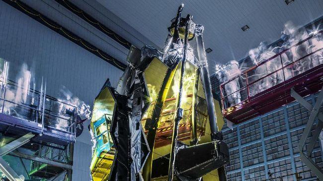 Teleskop Webb NASA untuk Pelajari Antariksa Meluncur 2021