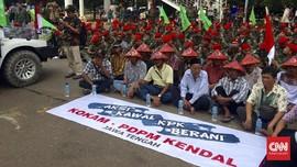 Pemuda Muhammadiyah Berdemo Desak KPK Usut Tuntas Kasus e-KTP
