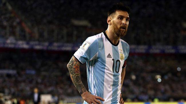 Semakin Menua, Messi Dambakan Piala Dunia