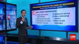 Lawatan ke Indonesia, Presiden Perancis Jalin Kerja Sama